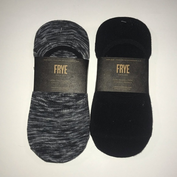 Frye Accessories - FRYE Women's 5-10 Black And White Sneaker Liners
